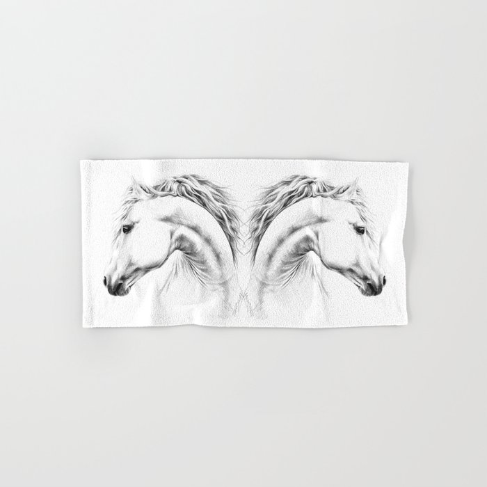 Horse Hand & Bath Towel