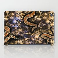 snake iPad Cases featuring SNAKE by sametsevincer
