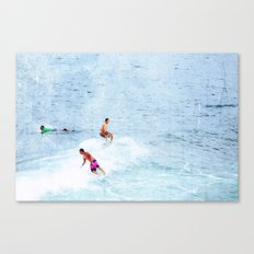 Surfing Time Canvas Print