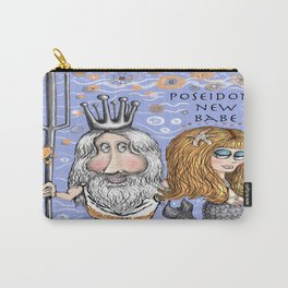 Poseidon's New Mermaid Babe Carry-All Pouch