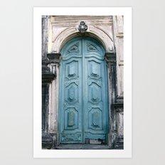 Door 2 Art Print