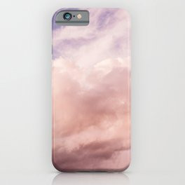 Perfect Pink Summer Sky Nature Photography iPhone Case