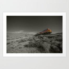 Peach Springs Freight  Art Print