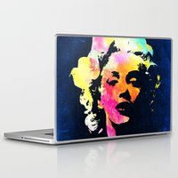 marilyn Laptop & iPad Skins featuring Marilyn by Fimbis