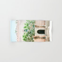 "Travel photography print ""Magical Marrakech"" photo art made in Morocco. Pastel colored. Hand & Bath Towel"
