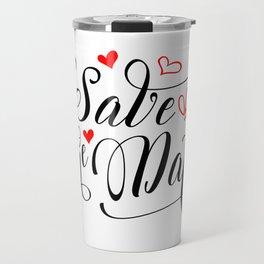 Save the date Travel Mug