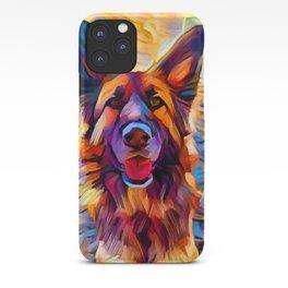 German Shepherd 8 iPhone Case