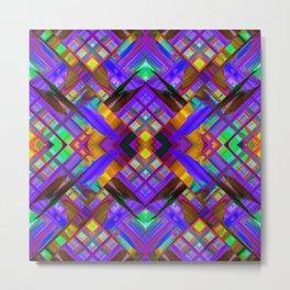Colorful digital art splashing G480 Metal Print
