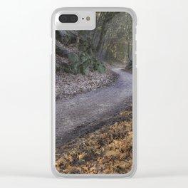 Through the Cutting Clear iPhone Case