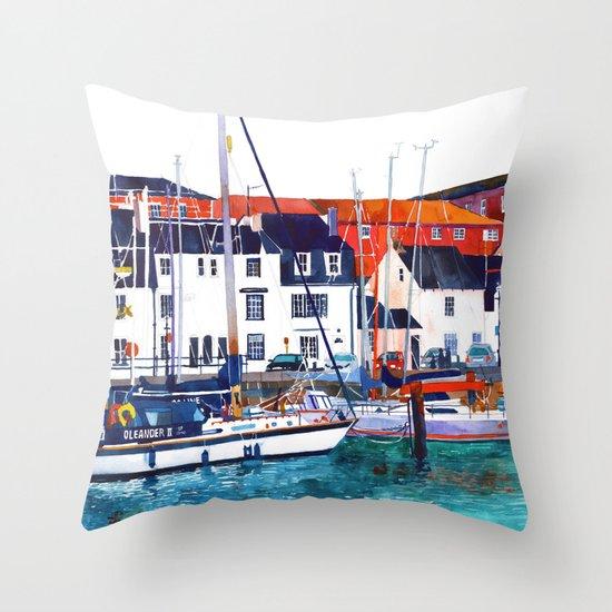 Weymouth Port Throw Pillow
