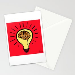 Use Your Brain Stationery Cards