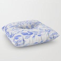Indigo Scene Floor Pillow