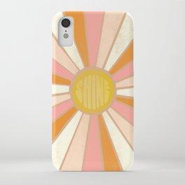 sundial shine, clay iPhone Case