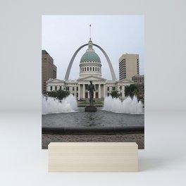 St. Louis arch Mini Art Print