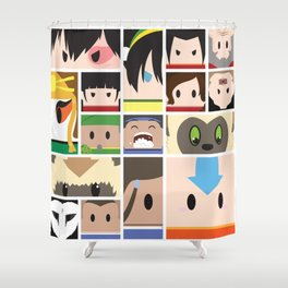 The Four Nations Shower Curtain