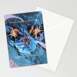 Geo Death Stationery Cards