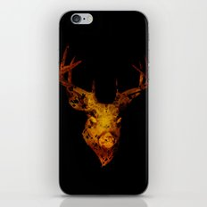 Cervus (Gold Negative Version) iPhone & iPod Skin