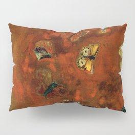 """Odilon Redon """"Evocation of butterflies"""" Pillow Sham"""