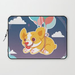 Balloon Corgi Laptop Sleeve