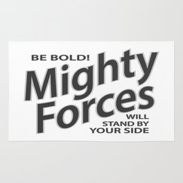 Mighty Forces Rug