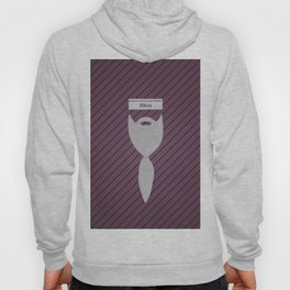 Albus (Famous mustaches and beards) Hoody