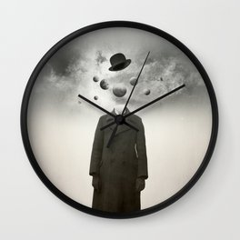 Head in the clouds I  Wall Clock