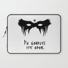 Your Fight Is Over (Trigedasleng) Laptop Sleeve
