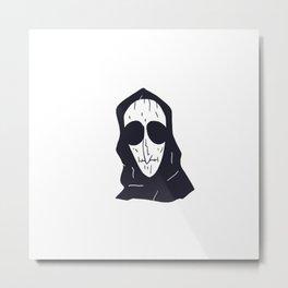Auntie Death Metal Print
