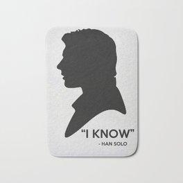 SW - I Know Bath Mat