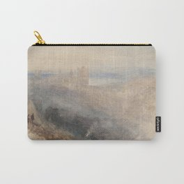 """J.M.W. Turner """"Moon over Lausanne"""" Carry-All Pouch"""
