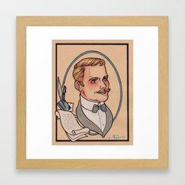 Dr. John Watson Framed Art Print