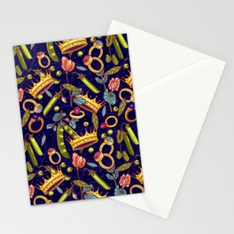 Princess and the Pea. Stationery Cards