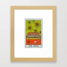 The Spices |Baker's Tarot Framed Art Print