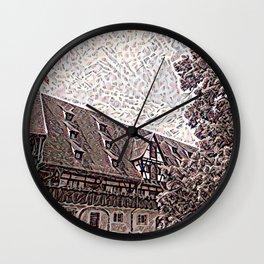 Pfalz Bamberg Wall Clock