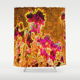 Floral Highlight Shower Curtain