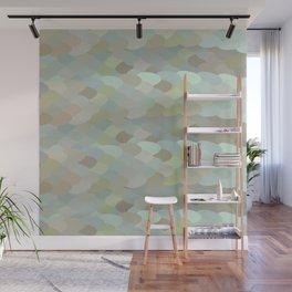 Dragon leaf scales Wall Mural