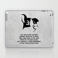 George Orwell - Animal Farm Laptop & iPad Skin