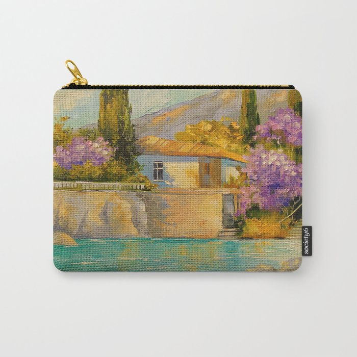 Cottage by the sea Carry-All Pouch
