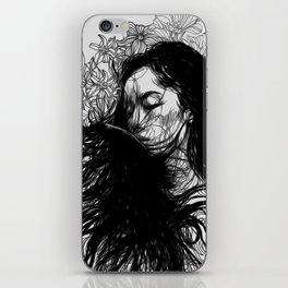 interrupted iPhone Skin