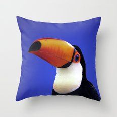 Toco Toucan Throw Pillow