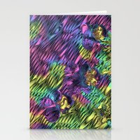 psychedelic Stationery Cards featuring Psychedelic by Dorothy Pinder