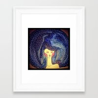 afro Framed Art Prints featuring AFRO by Alice BoBo