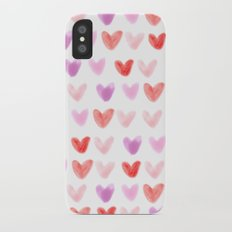 Love Hearts Slim Case iPhone X