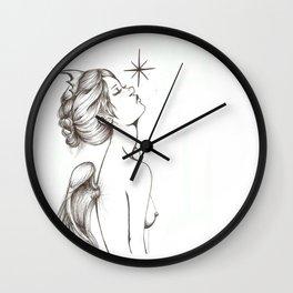 Memento Vivere, Memento Mori Wall Clock