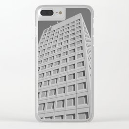 Proud Facade Clear iPhone Case
