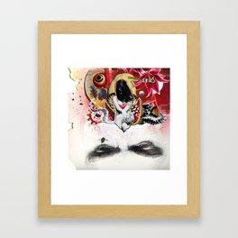 MINGA x Sleepless is the Watchful Eye Framed Art Print