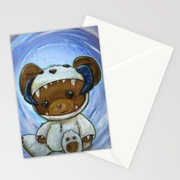Mr. Chompypants meets a Wampa Stationery Cards