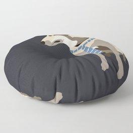 Mojo the Belgian shepherd Floor Pillow