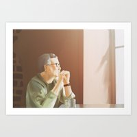 Distant Thought Art Print