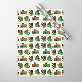 Velvet The Curious Cat - Christmas Wrapping Paper